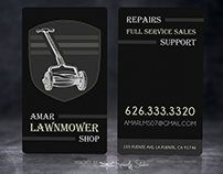 Amar Lawnmower Shop - Business Cards