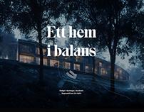 Ett hem i balans – Website