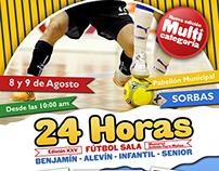 Carte - 24 Horas de Fútbol Sala