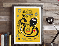 Mama knows better / Band poster
