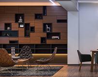 Дизайн интерьера модульного дома 130кв.м