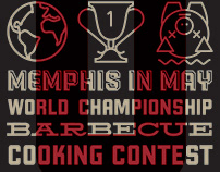 2015 Memphis In May Barbecue Poster