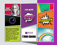 Brochure Design (Pop Culture Themed)
