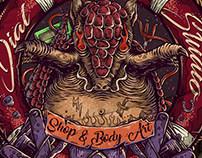 Lodo Dial Tattoo Studio - Artwork: Kin Noise 2017