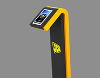 JCB Interactive Screen Stand
