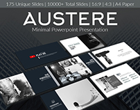 Austere - Minimal PowerPoint Presentation