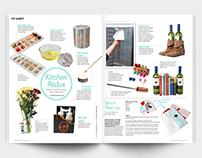 Celebrity Living magazine June  2012