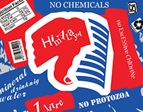 Himalayan Mineral Water Label (Packaging)