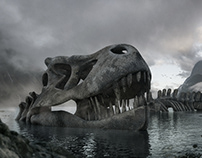Mega Dino fossil