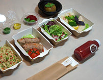 Design for EAT KIT healthy food meals