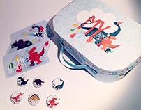 Dino birthday box