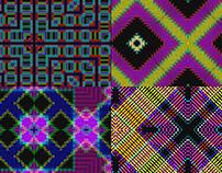 Pixel Neon Led - VJ Loop Pack (4in1)
