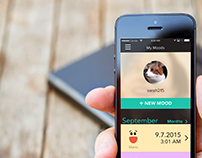 MoodTalk, A Social App for Mood Disorders