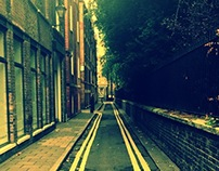 A Lonley Path near Baker, London