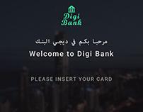 Digi Bank :ATM Screens