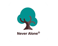 Never Alone| Branding & Corporate Identity