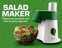 Diseño web - Philips Salad Maker