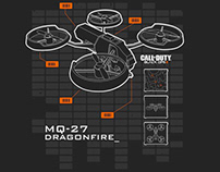 Call Of Duty Dragon Fire Drone Tee