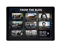 Solutions Journalism - Website Concept