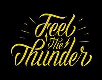 Feel The Thunder - Lettering