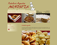 Pastelería Mendieta |  website design & development