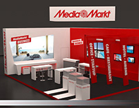 "Exhibition kiosk for ""Media Markt"""