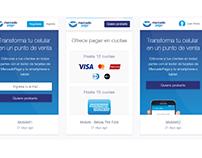 Mobile Landing Page - Mercado Pago POS