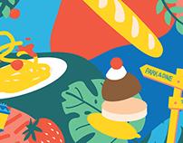 Food & Venture [Millenia Walk]