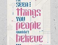 Typeface Replicante Font