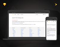 Sprint 4.0 Design System