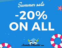 Summer sale -20% discount on Joomla templates