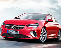Opel Insignia and Astra 2021
