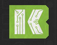 Kickbyte logo concept
