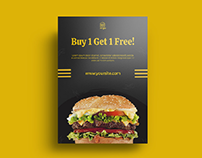 Free Download Restaurant Flyer
