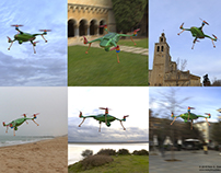 """Recreational Drone Concept """"Frog"""""""