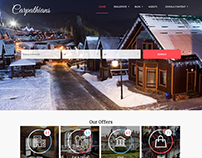 Carpathians - Resort & Hotel Joomla template