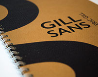 Gill Sans Specimen book