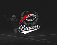 Criação de logo e artes para fanpage - Time Brewers