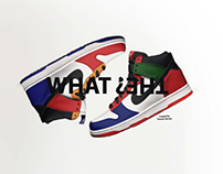 """Nike Dunks """"what the?"""""""