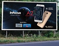 Hoarding Design for InFocus Smartphone