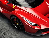 La Ferrari - CGI