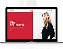 H&M website redesign
