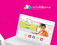 Active Kids Group Brand Identity