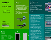 Xperia Sony Smartphone (Startup Guide Redesign)
