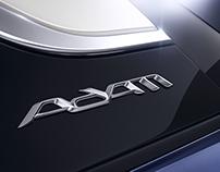 Full CGI - Opel Adam close shots