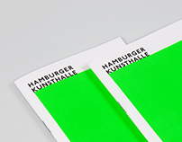 Hamburger Kunsthalle – Corporate Identity