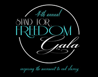 4th Annual Stand For Freedom Gala Advertisements