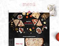 Sammy´s Pizza / Web Design