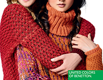 UNITED COLORS OF BENETTON winter 2016 editorials