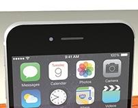 iPhone 6 3D